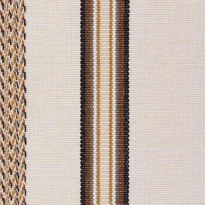 SCHUMACHER KAYENTA STRIPE FABRIC 77450 / NEUTRAL