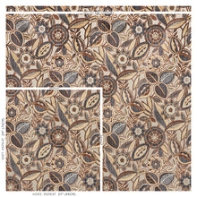 Load image into Gallery viewer, SCHUMACHER GARLAND VELVET FABRIC 77760 / NEUTRAL