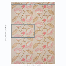 Load image into Gallery viewer, SCHUMACHER CELINDA EMBROIDERY FABRIC 78302 / BLUSH