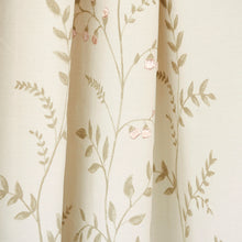 Load image into Gallery viewer, SCHUMACHER CYNTHIA EMBROIDERED PRINT FABRIC 78351 / NATURAL