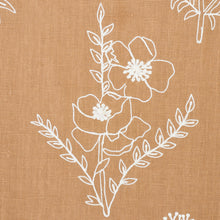 Load image into Gallery viewer, SCHUMACHER LISBETH EMBROIDERY FABRIC 78361 / CAMEL