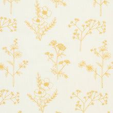 Load image into Gallery viewer, SCHUMACHER LISBETH EMBROIDERY FABRIC 78362 / MARIGOLD