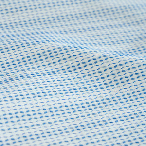 SCHUMACHER BRANFORD INDOOR/OUTDOOR FABRIC 78540 / BLUE