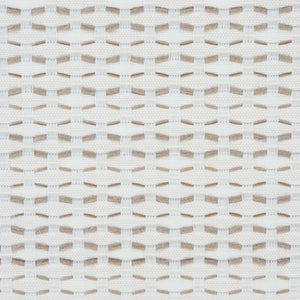 SCHUMACHER BRANFORD INDOOR/OUTDOOR FABRIC 78542 / NEUTRAL
