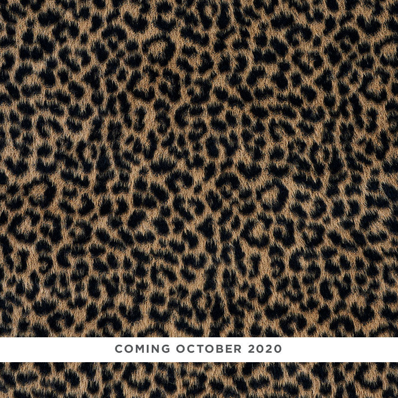 SCHUMACHER LILYA LEOPARD FABRIC 78960 / NATURAL