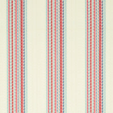 Load image into Gallery viewer, SCHUMACHER BENDITA STRIPE INDOOR/OUTDOOR FABRIC 79152 / ROSE