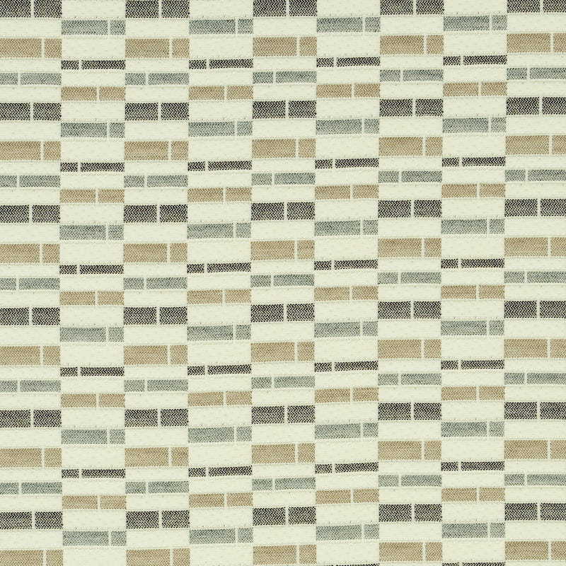 SCHUMACHER ASHCROFT INDOOR/OUTDOOR FABRIC 79161 / NEUTRAL