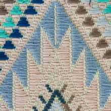 Load image into Gallery viewer, SCHUMACHER COYOLATE HAND WOVEN BROCADE FABRIC 79242 / ARCTIC