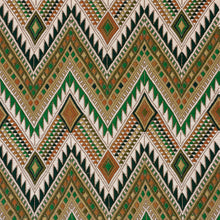 Load image into Gallery viewer, SCHUMACHER COYOLATE HAND WOVEN BROCADE FABRIC 79243 / GREEN