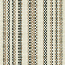 Load image into Gallery viewer, SCHUMACHER SOLANA STRIPE INDOOR/OUTDOOR FABRIC 79331 / STONE