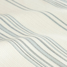 Load image into Gallery viewer, SCHUMACHER SOLANA STRIPE INDOOR/OUTDOOR FABRIC 79332 / SKY