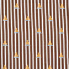 Load image into Gallery viewer, Schumacher Ludus Stripe Fabric 79362 / Brown