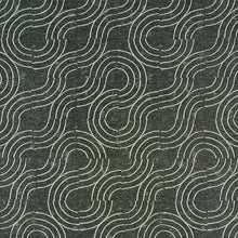 Load image into Gallery viewer, SCHUMACHER ALMA INDOOR/OUTDOOR FABRIC 79400 / CARBON