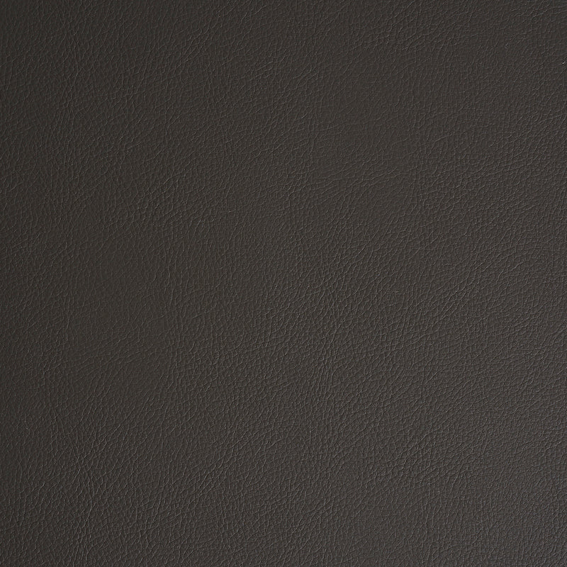 SCHUMACHER INDOOR/OUTDOOR VEGAN LEATHER FABRIC 79559 / BROWN