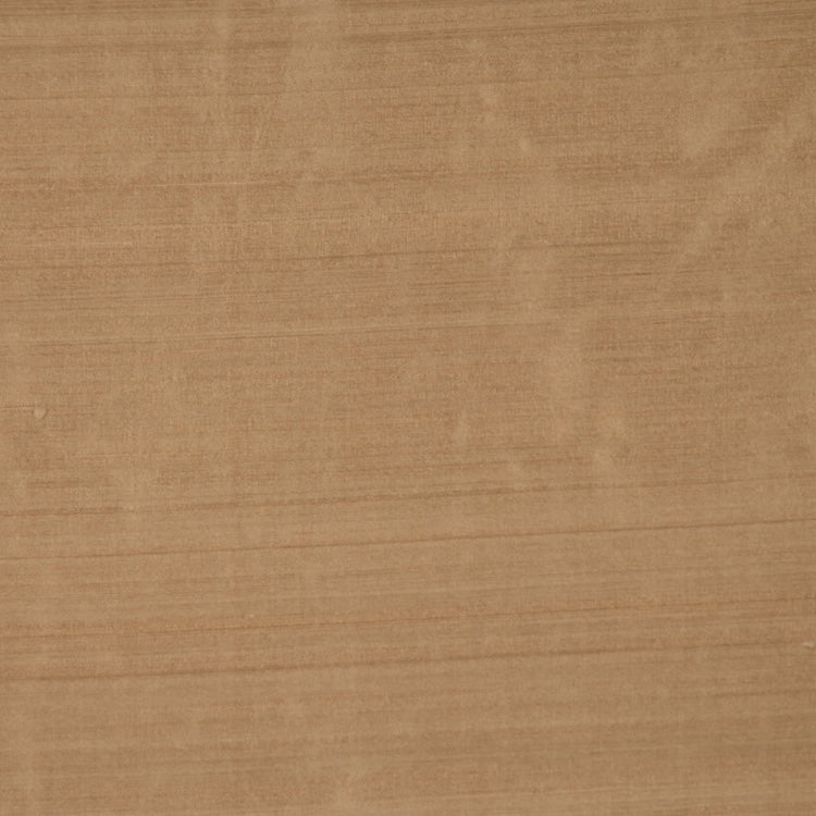 Pure Handwoven Silk Dupioni Drapery Fabric Beige / New Oak