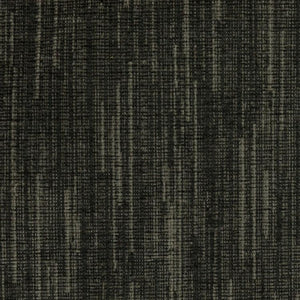 Rialto Black Drapery Light Upholstery Fabric / Dusk