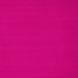 Pure Handwoven Silk Dupioni Drapery Fabric Pink / Pink Lighting