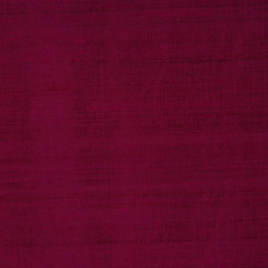Pure Handwoven Silk Dupioni Drapery Fabric Purple  / Aubergine
