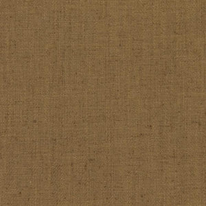 Barrister Brown Upholstery Minimalist Linen Poly Fabric / Fawn