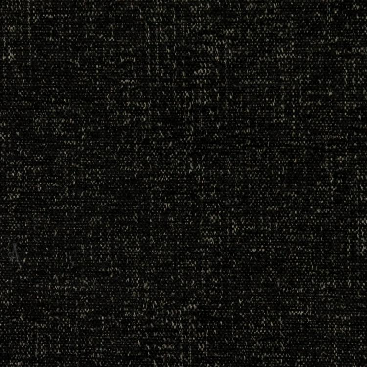 Well Suited Black Drapery Light Upholstery Fabric / Onyx