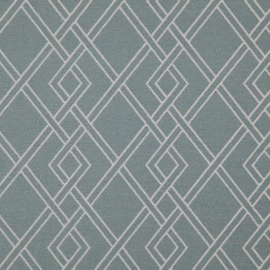 Alton Geometric Upholstery Fabric / Duck Egg