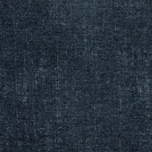 Penthouse Denim Navy Blue Drapery Fabric / Stardust