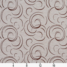 Load image into Gallery viewer, Essentials Heavy Duty Upholstery Drapery Abstract Fabric Beige / Linen Swirl