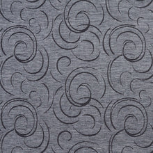 Load image into Gallery viewer, Essentials Heavy Duty Upholstery Drapery Abstract Fabric Gray / Slate Swirl