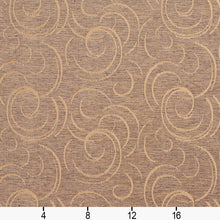 Load image into Gallery viewer, Essentials Heavy Duty Upholstery Drapery Abstract Fabric Light Brown / Antique Swirl