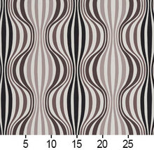 Load image into Gallery viewer, Essentials Drapery Upholstery Abstract Strire Fabric / Black Gray White