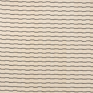 SCHUMACHER LINES FABRIC / BLACK
