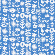 Load image into Gallery viewer, SCHUMACHER WILD THINGS FABRIC / BLUE