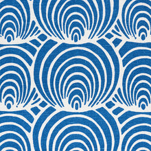 Load image into Gallery viewer, SCHUMACHER CORALLINE FABRIC / BLUE