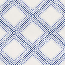 Load image into Gallery viewer, SCHUMACHER SQUARE DANCE FABRIC / BLUE