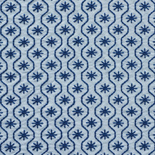 Load image into Gallery viewer, SCHUMACHER GIGI EMBROIDERY FABRIC / BLUE
