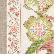Load image into Gallery viewer, SCHUMACHER ANJOU STRIPE FABRIC 178521 / BLUSH
