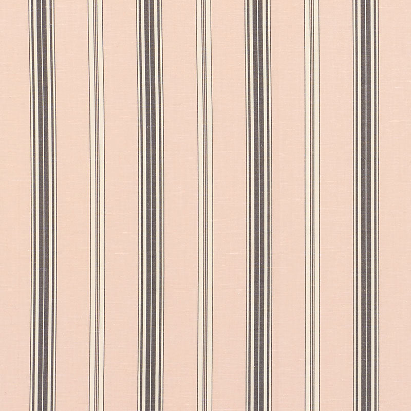 SCHUMACHER COCO STRIPE FABRIC / BLUSH