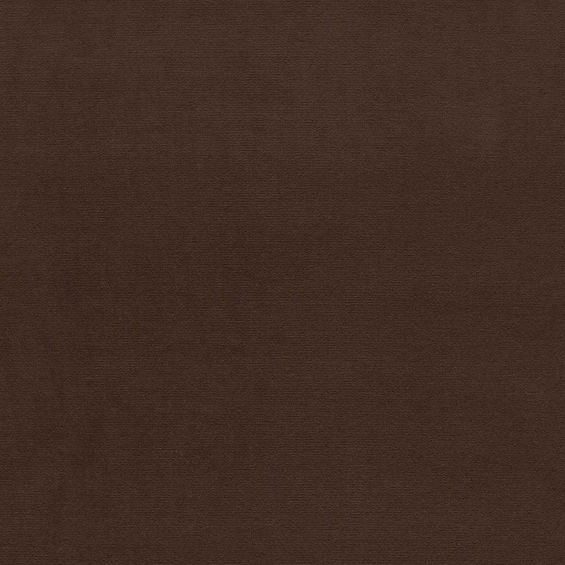 SCHUMACHER GAINSBOROUGH VELVET FABRIC / BROWN