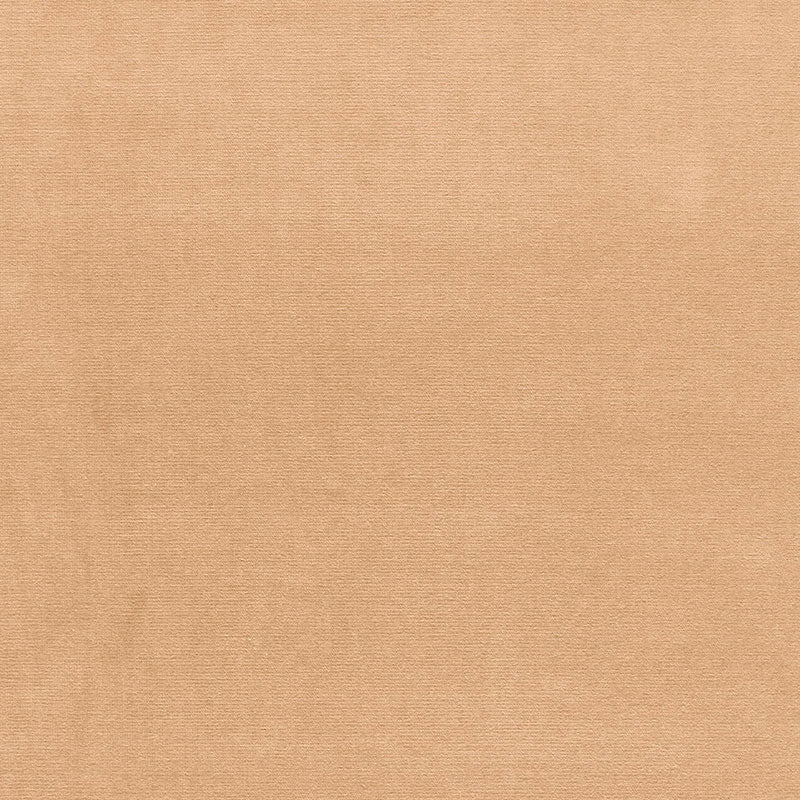 SCHUMACHER GAINSBOROUGH VELVET FABRIC / BUFF