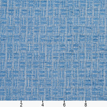 Load image into Gallery viewer, Essentials Heavy Duty Upholstery Drapery Basketweave Fabric / Blue