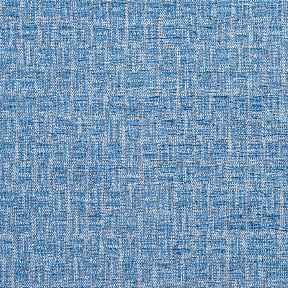 Essentials Heavy Duty Upholstery Drapery Basketweave Fabric / Blue