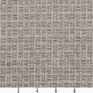 Essentials Heavy Duty Upholstery Drapery Basketweave Fabric / Gray