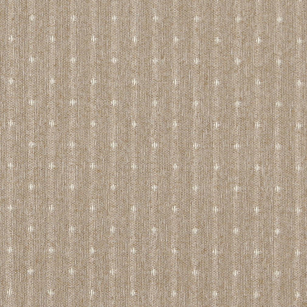 Essentials Beige Cream Upholstery Fabric / Sand Dot