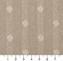 Load image into Gallery viewer, Essentials Beige Cream Upholstery Fabric / Sand Leaf