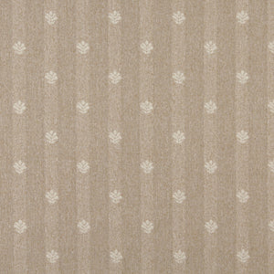 Essentials Beige Cream Upholstery Fabric / Sand Leaf