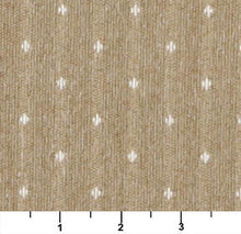Load image into Gallery viewer, Essentials Beige Cream Upholstery Fabric / Wheat Dot