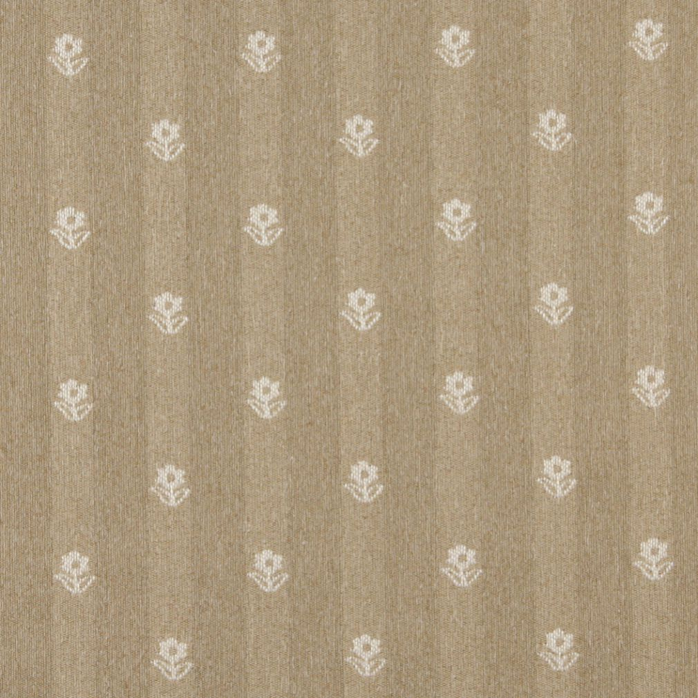 Essentials Beige Cream Upholstery Fabric / Wheat Petal