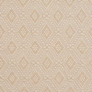 Essentials Upholstery Geometric Fabric / Beige