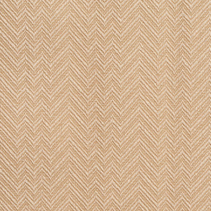 Essentials Crypton Beige Ivory Chevron Geometric Upholstery Fabric / Khaki