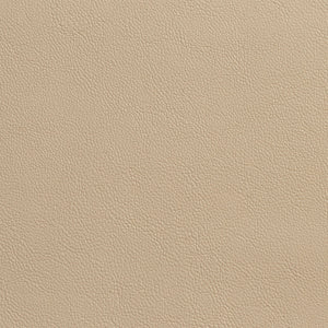 Essentials Breathables Beige Heavy Duty Faux Leather Upholstery Vinyl / Parchment